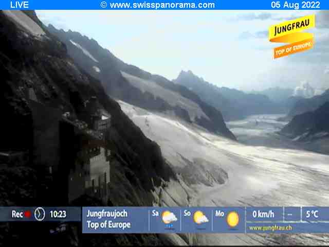 LiveCam at Top of Europe