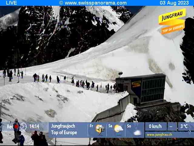 Jungfraujoch live cam