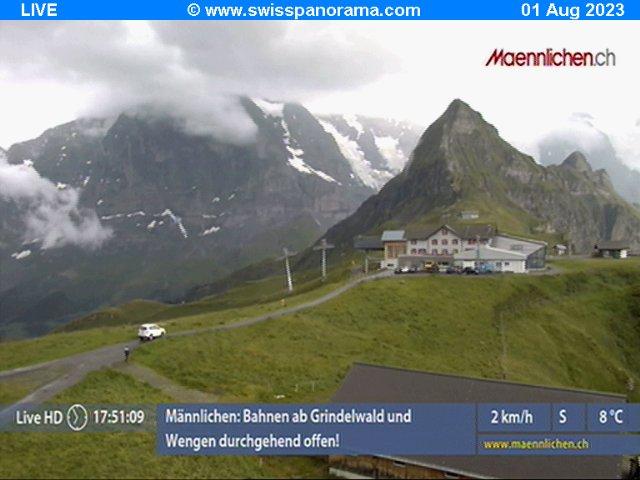 Webcams de Grindelwald - Jungfrau