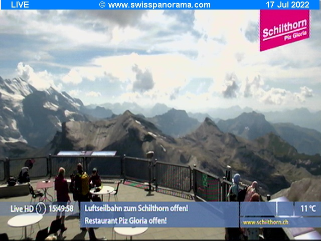 Webcam not available for Schilthorn