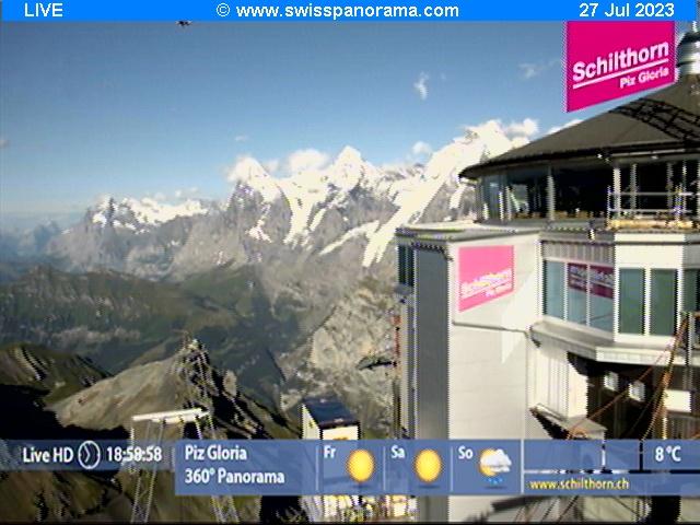 Webcam en Mürren - Schilthorn, Grindelwald - Jungfrau (Suiza)