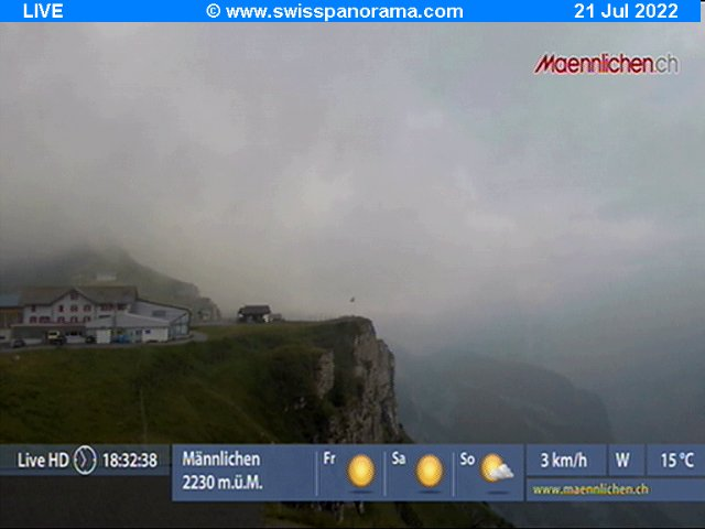 Webcam not available for Männlichen