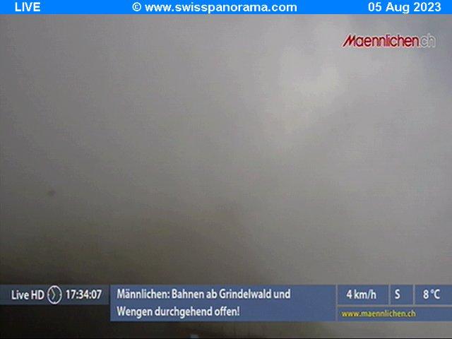 Webcam en Maennlichen, Grindelwald - Jungfrau (Suiza)
